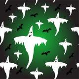 Een naadloze Halloween-achtergrond Royalty-vrije Stock Afbeelding