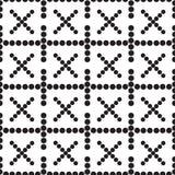 Een naadloze patroonkruisen Royalty-vrije Stock Afbeelding