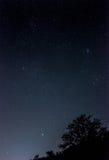 Een nachthemel Stock Foto's