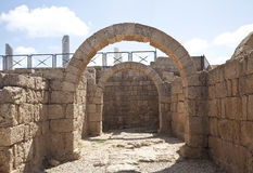 ?aesarea Palestina, Israël Royalty-vrije Stock Fotografie