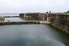 Een Nederlands fort in Sri Lanka stock fotografie