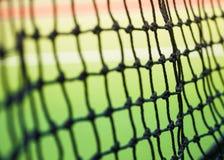 Een netto deel van tennis royalty-vrije stock fotografie
