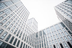 Een nieuw commercieel centrum in Oefa Stock Foto