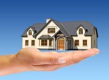 Een nieuw huis Stock Foto