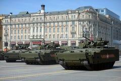 Een nieuwe IFV t-15 Armata Stock Fotografie