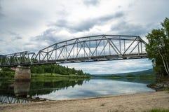 Een Noorse brug Royalty-vrije Stock Foto