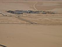 Een oase in de woestijn Royalty-vrije Stock Fotografie