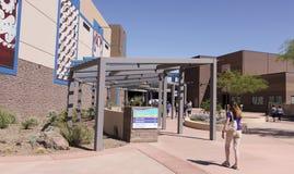 Een OdySea-Ingang in Scottsdale, Arizona wordt geschoten dat stock afbeelding