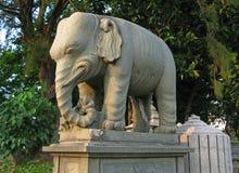 Een olifant stock afbeelding