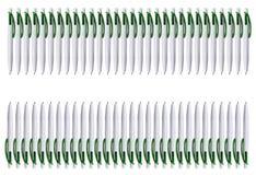 Een omheining van heel wat pennen Textuur met ruimte voor het typen van de tekst royalty-vrije stock fotografie