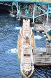 Een onderzeeër bij disneyoverzees Tokyo Japan Royalty-vrije Stock Afbeeldingen