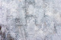 Een ongebruikelijk ijs als achtergrond Een abstract beeld van bevroren water Royalty-vrije Stock Afbeelding