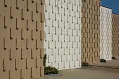 Een ongebruikelijke Muur Stock Foto's
