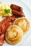 Een ontbijtmaaltijd stock afbeelding