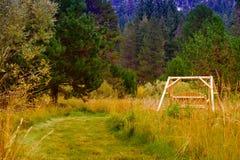 Een ontspannend landschap Royalty-vrije Stock Fotografie
