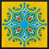 Een ontworpen Islamitisch patroon stock afbeelding