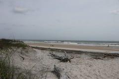 Een ontzagwekkende stranddag royalty-vrije stock foto
