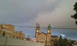 Een onweer stock afbeeldingen