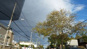 Een onweer komt Royalty-vrije Stock Foto