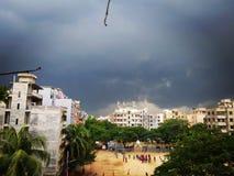 Een onweer staat te komen op het punt Stock Foto