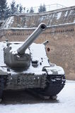 De tank van de oorlog Stock Afbeelding