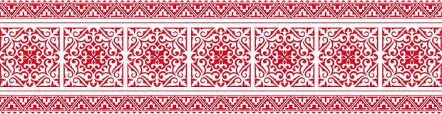 Een oostelijk ornament Royalty-vrije Stock Afbeelding