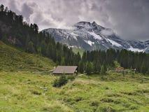 Een Oostenrijks landschap stock afbeeldingen