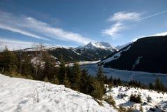 Een Oostenrijkse Scène van de Winter Stock Foto's