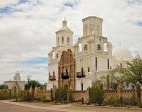 Een Opdracht San Xavier del Bac, Tucson royalty-vrije stock afbeelding
