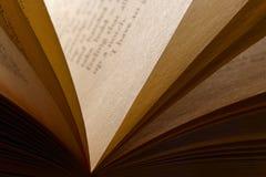 Een open boek Stock Fotografie