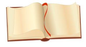 Een open boek Royalty-vrije Stock Foto's