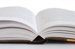 Een open boek Royalty-vrije Stock Afbeelding