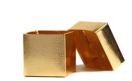 Een open giftdoos Stock Foto's