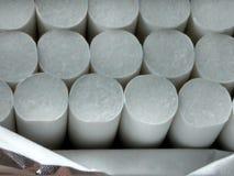 Een open pak sigaretten Stock Fotografie