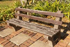 Een Openluchtstoel stock afbeeldingen