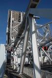 Een ophaalbrug Stock Afbeelding