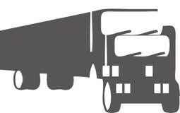 Een Opleggervrachtwagen Royalty-vrije Stock Foto