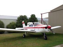 Een opleidingsvliegtuig Royalty-vrije Stock Foto's