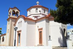 Een orthodoxe kerk Royalty-vrije Stock Afbeelding