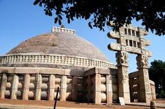 Stupa van Sanchi Royalty-vrije Stock Afbeeldingen