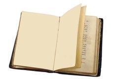 Een oud boek is Psalter Royalty-vrije Stock Foto
