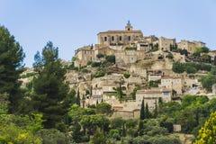 Een oud dorp in de Provence royalty-vrije stock foto