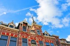 Een oud gebouw in Gorinchem. Royalty-vrije Stock Afbeelding