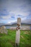 Een oud graf in Ierland Royalty-vrije Stock Foto