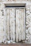 Witte deur Royalty-vrije Stock Foto's