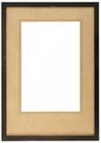 Een oud houten fotoframe Royalty-vrije Stock Foto