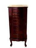 houten kabinet Stock Foto's