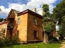 Een oud huis Stock Afbeeldingen