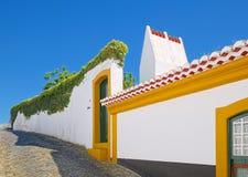Een oud huis in Angra do Heroismo, Terceira-eiland, de Azoren Royalty-vrije Stock Foto's