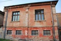Een oud huis in Bitola, Macedonië Royalty-vrije Stock Foto